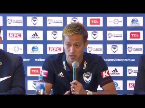 Keisuke Honda: English press conference